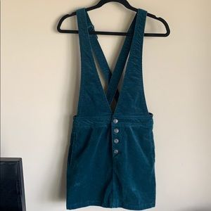 Wild Fable Forest Green Overall Skirt Size M